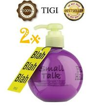 2 x TIGI BED HEAD SMALL TALK THICKIFIER ENERGIZER STYLIZER - 200ml
