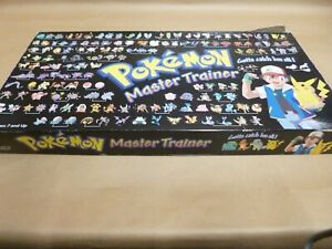 Pokemon Master Trainer Board Game, All pieces there 1 Dice Missing,