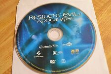 Resident Evil: Apocalypse (DVD, 2004)Disc Only Free Shipping