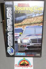 SEGA TOURING CAR CHAMPIONSHIP SEGA SATURN PAL GAME COMPLETE