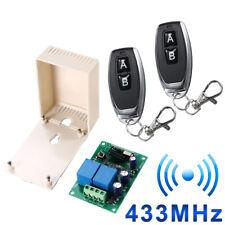 433MHz Garagentor Fernbedienung mit Funk Schalter Empfänger Sender Relais