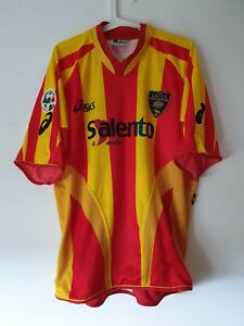 Maglia Lecce match worn indossata rarissima Paci rare salento no bari juve milan