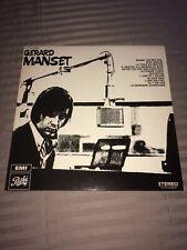 GERARD MANSET : Manset 1968 - Rare LP Vinyl 33 Tours - FRENCH PSYCH PROG REED 78