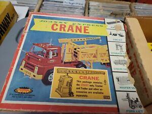 Vintage Topper Johnny Express #6181 Crane For Tractor Trailer 1965