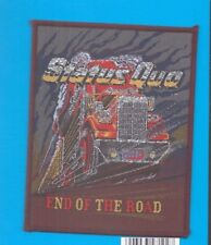 Status Quo End Of The Road vintage 1980s SEW-ON PATCH