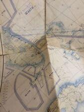 Umhang Canaveral Sich Trinidad-Coastal Survey Seekarte (Offiziell) 1956 Matten