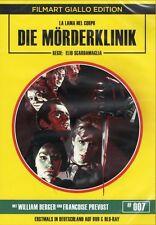Murder Clinic Blu Ray & DVD Film Art 1966 Giallo uncut