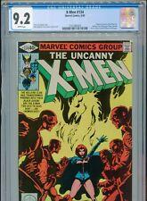 1980 MARVEL UNCANNY X-MEN #134 HELLFIRE 1ST APPEARANCE DARK PHOENIX CGC 9.2 BOX3