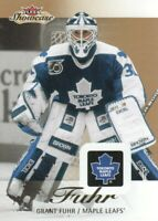 2013-14 Fleer Showcase Hockey #89 Grant Fuhr Toronto Maple Leafs