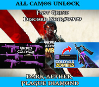 Call of Duty Black Ops Cold War ALL CAMOS Dark Aether - INSTA UNLOCK - SALE!