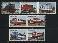 Burkina Faso MNH Scott # 732-38 Locomotives Value $ 12.55  US $$