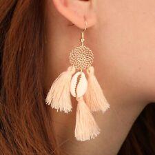 Trendy Women Bohemian Earring Long Tassel Statement Dangle Drop Earrings Jewelry