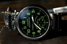 Limited Edition Marriage mens wrist watch Military OPEN FACE 18 Jewels 3602