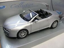 1/24 Welly Alfa Romeo Spider silbermetallic