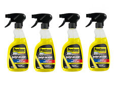 Prestone 4x 500ml Fast Rapid Acting Windscreen De-Icer Frost Ice Trigger Spray