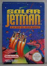 SOLAR JETMAN A LA CAZA DEL GOLDEN WARSHIP - NINTENDO NES - VERSION ESPAÑA