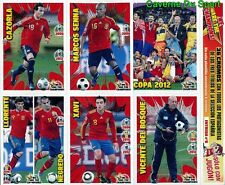 N°6 ESPANA WE ARE THE CHAMPIONS SPECIAL EDITION RARE!! STICKERS EURO 2012 PANINI
