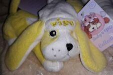 Vipo Baby Spielzeug Hund gelb Zugspielzeug Plüschspielzeug Kinderwagen Motorik