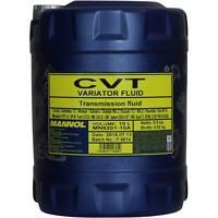 10 Liter Original MANNOL Automatikgetriebeöl CVT Variator Fluid Getriebe Öll