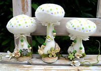 3 Pilze,Frühling ,Sommer,Deko,Tilda