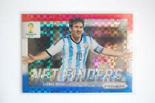 2014 Panini Prizm World Cup Soccer LIONEL MESSI Net Finders Power Plaid