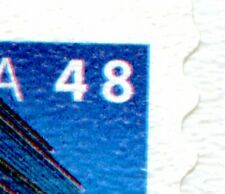 Weeda Canada BK251ii VF Booklet of 10 with printing shift