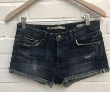 NEU Zara Woman Denim Shorts Hotpants Größe 34 6 Festival Sommer blau