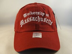 Massachusetts UMass Minutemen NCAA Vintage Strapback Hat Cap American Needle