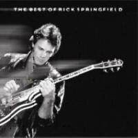 RICK SPRINGFIELD - THE BEST OF RICK SPRINGFIELD [RCA] NEW CD