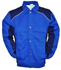 Bundjacke Arbeitsjacke Jacke Berufsjacke Berufskleidung Royal/Marine Gr 46-52