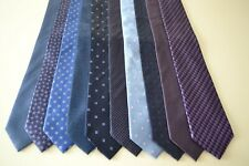 Job Lot Bundle of T.M.Lewin  x 10 silk neckties