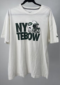 """New Nike """"Tim Tebow"""" NFL Tebow Shirt Men's 2XL NY Jets"""