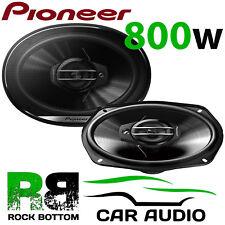 Pioneer 800 WATTS a Pair 6x9 3 Way Car Van Rear Deck Oval Parcel Shelf Speakers