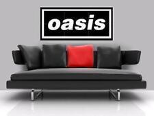 "OASIS BORDERLESS MOSAIC TILE WALL POSTER 35"" x16.5"" BRITPOP NOEL LIAM GALLAGHER"