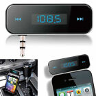 Car Wireless FM MP3 Radio Transmitter Handsfree for iPhone 6s and Samsung iPod