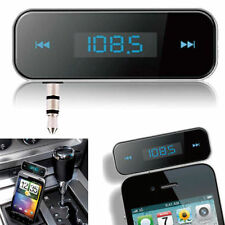 Car Wireless FM MP3 Radio Transmitter Handsfree for iPhone 7/6/5 iPod Samsung UK