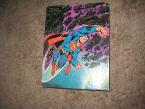Vintage 1983 Superman puzzle of 100 pieces
