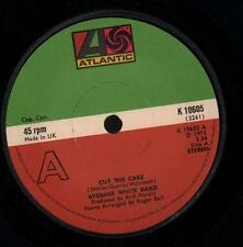"Average White Band(7"" Vinyl)Cut The Cake / Person To Person-Atlantic-K -VG/VG"