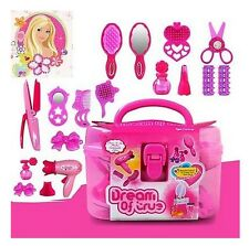 Cute Pricess Makeup Set Hairdressing Make Up Kids Girls Simulation Children Toy
