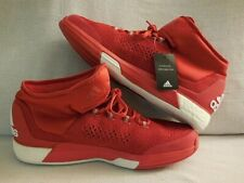 Adidas Crazylight Boost Techfit Basketball Shoe (Red/White) Men'S 14.5