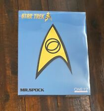 Mezco Star Trek - Kirk Spock Sulu ONE:12 Collective Action Figure. used