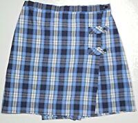 Becky Thatcher Elderwear Girl's School Uniform Plaid Skort Size 16 1/2