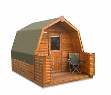 The Lodge Glamping Pod | For Sale and Rental from £35 per week or £1950 to buy.