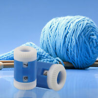 New Mini Plastic Knitter Needle Stitch Marker Tally Crochet Knitting Row Counter