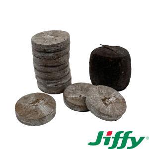 Jiffy 7 Peat Pellets 41mm x100 Propagation Plug Seed Cutting Hydroponic Bio