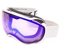 SCOTT Ski Goggles  FAZE II White with Illuminator Blue Chrome Lens 267605