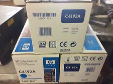 Original HP Toner 2x C4192A Cyan & 1x C4193A magenta Neu & Original verpackt