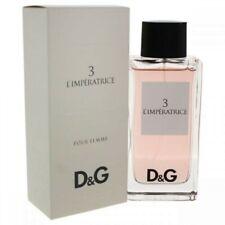 Parfum DOLCE & GABBANA ANTHOLOGY L'IMPÉRATRICE 3 EAU DE TOILETTE 100ML NEUF