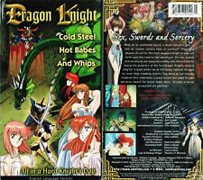 Dragon Knight Anime VHS Video Tape New English Dubbed