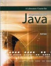 A Laboratory Course for Programming with Java by Nell B. Dale (2008, Paperback)